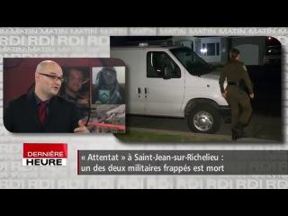 Canada : un terroriste présumé abattu après avoir blessé deux militaires (Màj vidéo : un militaire est mort)